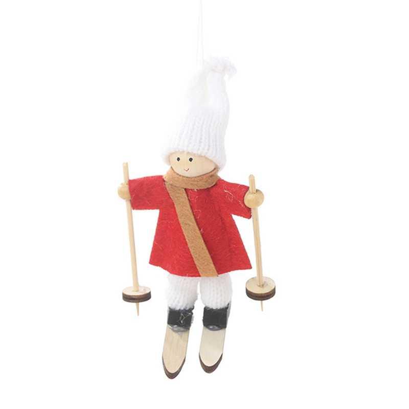 น่ารัก Xmas Tree Ornament 2020 ใหม่ปีล่าสุด Christmas Angel ตุ๊กตา Noel Deco คริสต์มาสสำหรับตกแต่งบ้าน Navidad 2019 เด็กของขวัญ