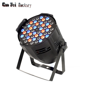 led par can 54X3W dmx wash lights with RGBW Full colors by dmx Control sound-activated for DJ Disco event bar show