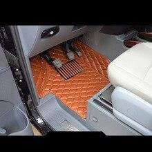 цена на lsrtw2017 leather car floor mats for mercedes benz v-class Viano Vito 2003-2014 2011 2010 2009 2008 2007 2006 2005 w639 carpet