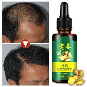 Dense Hair Growth Oils Ginger  Serum Nutrient Essence Oil 100% Natural Hair Loss Treatement Effective Fast Growth Hair Care 30ML