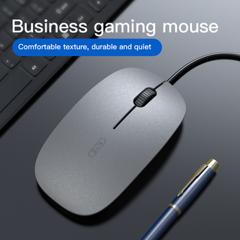 Mini Wired Mouse 1200DPI Optical Ergonomic Mice 3 Buttons Game Mice Sound Silent E-sports 1.5M Cable USB Game Mouse For Laptop