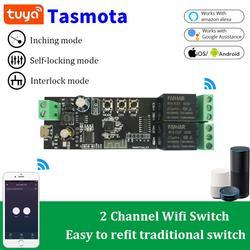2CH приложение Tuya Wi-Fi Беспроводной DIY умный переключатель дистанционного Управление модуль 433 дистанционного Управление умный дом гаража уни...