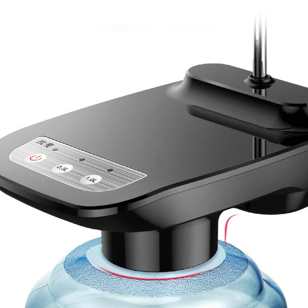 Dispensador de agua eléctrico inalámbrico portátil eléctrico automático bomba de agua cubo botella dispensador USB recargable