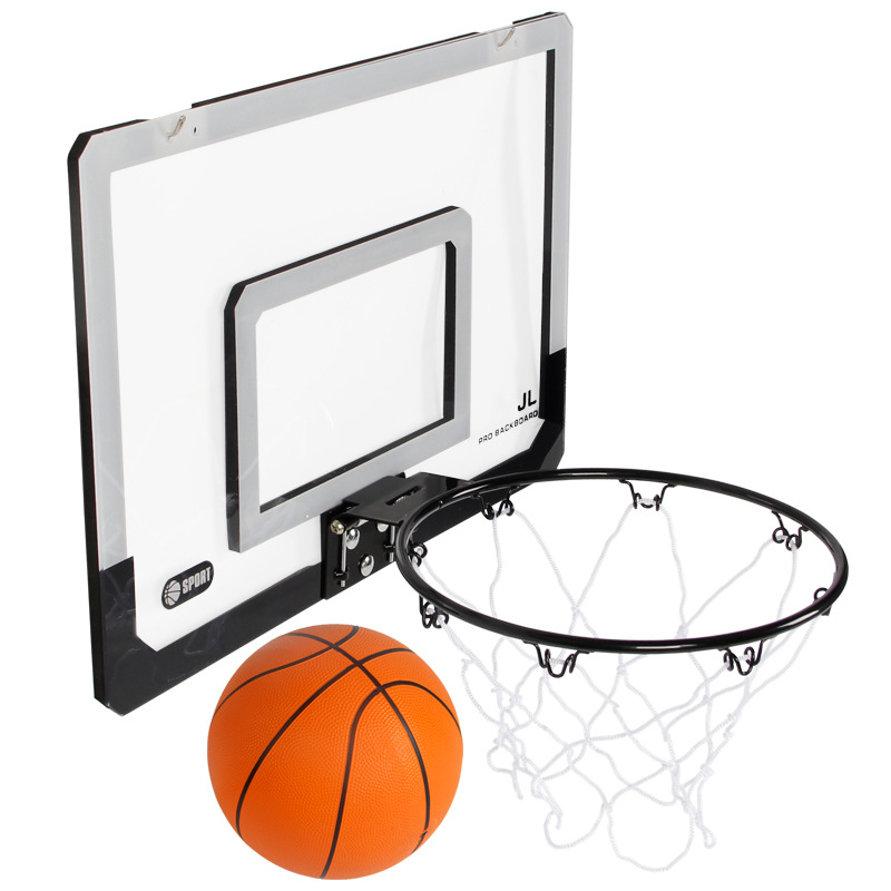 -Dunk Real Frame Indoor Small Basketball Board Outdoor Children Dormitory Shooting Ring Frame Effective Sports Non-
