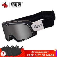 Gafas Retro de motociclista, gafas Steampunk de cobre, gafas de motociclista Vintage, gafas a prueba de viento