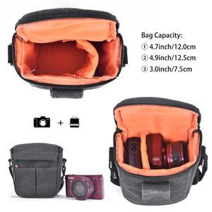Image 4 - Fusitu – sac à bandoulière pour appareil photo, pour Canon EOS M100 M50 M10 M6 M3 M2 SX540 SX530 SX520 SX510
