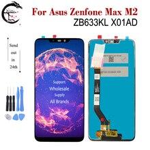 """6.3 """"nuovo LCD Per Asus Zenfone Max M2 ZB633KL X01AD Display LCD Sensore di Tocco Dello Schermo Digitizer Assembly ZB633 ZB633KL display"""