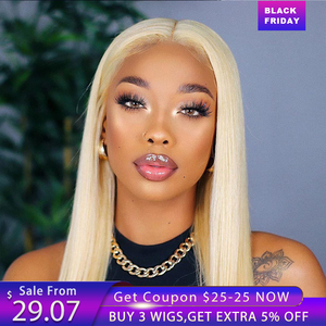 613 Blond 13x4X1 Lace Frontal Human Hair Wigs for Women Lace Front Wig Straight Wig Pre Plucked Brazilian Remy Hair