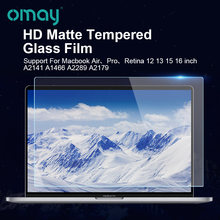 Защитная пленка для ноутбука матовое закаленное стекло hd macbook