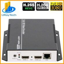 HEVC HDMI аудио видео IPTV кодер H.265 H.264 прямая трансляция RTMP кодер HDMI к RTMP RTSP HLS ONVIF UDP передатчик H264 H265