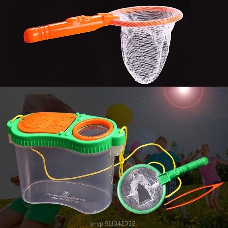 Портативный насекомых наблюдатель ребенок игрушка Лупа наблюдения коробка детской верхней одежды; Эксперимент по исследованию оборудован...