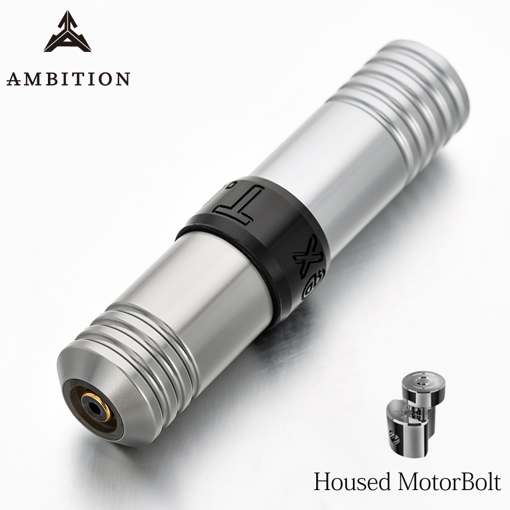Ambition T.rex Rocket Rotary Tattoo Machine Pen Housed Motorbolt Providing Artists Full Control Of Parameters For Tattoo Master