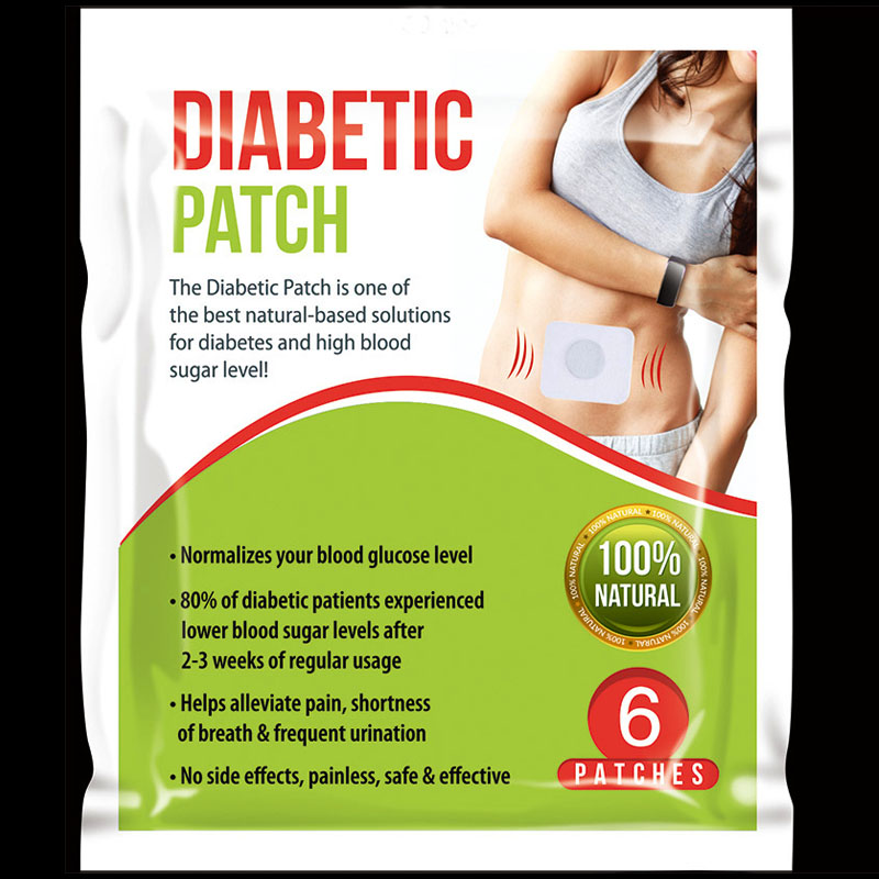 120 Patches=20bag Diabetic Patch Reduce High Blood Sugar Natural Herbs Diabetes Plaster
