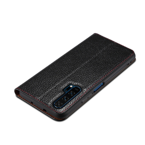 Image 3 - Huawei Honor 20 Case Genuine Leather Smart Window Magnet Flip Retro Cover For Huawei Honor 20 Pro Phone Casing With Sleep Koosuk