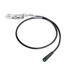 Kabel USB do programowania kabel do zmiany Bafang 8Fun w połowie Drice silnika BBS01 BBS02 BBSHD PAS prędkość prądu limity E-rower elektryczny