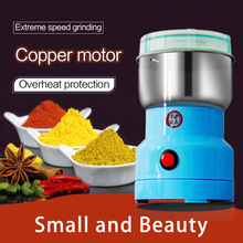 Electromotor Mixer Food Chopper Crusher Processor Blender Coffee Salt and Pepper Grinder Grain Electric Spice Mill Kitchen tools