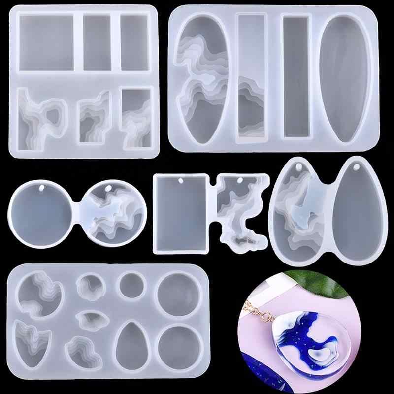 F-blue 1x Crown//Musik//Tier Silikon-Form-Form-Epoxidharz-Schmuck-Anh/änger die DIY