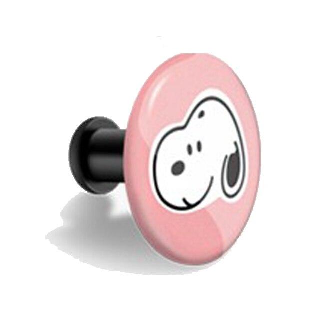 Пряжка для xiaomi mi band 4, 3, 2, mi Band 4, 3, 2, 1, ремешок с узором, кнопка, браслет mi band 4, ограниченная серия, аксессуары для наручных ремней - Цвет: Snoopy