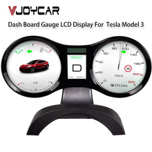Vjoycar 2021 VT4 Digital Performance HUD Smart LCD Displayer Center Console Dashboard für Tesla Modell 3 & für Tesla Modell Y