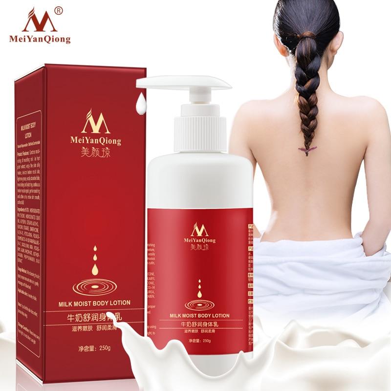 Milk Moist Body Lotion Cream Anti-chapping Nourish Rejuvenation Soft And Comfortable Whitening Beauty Super Milk Extract Essence