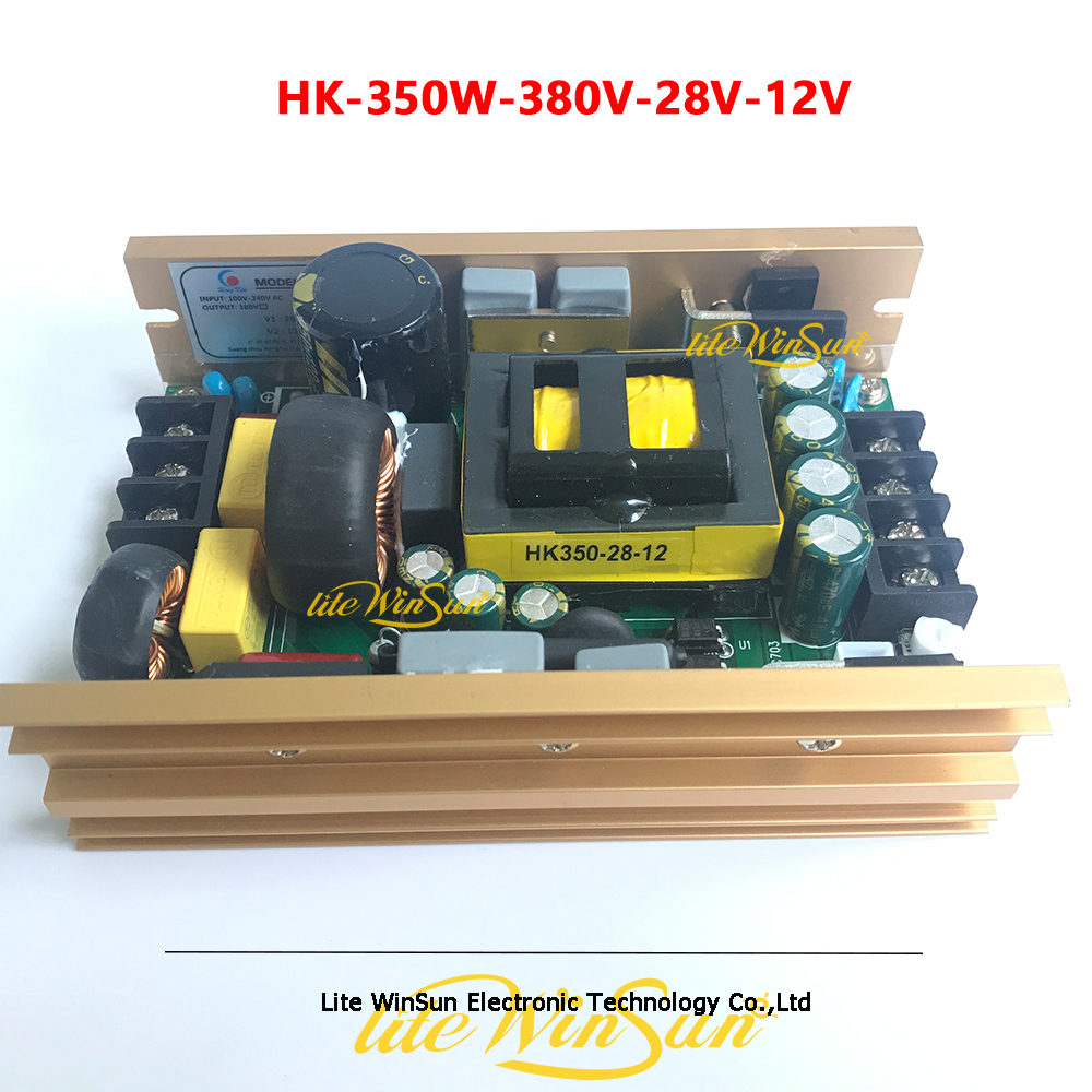 HK-350W-380V-28V-12V Power Board Supply For Beam Moving Head Stage Lighting Accessories Replace Power Kits