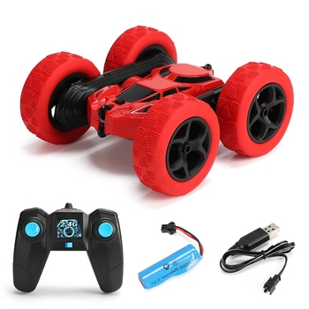 4wd RC Car Drift Double Side Stunt Car 360 Degree High-speed Rotation Educational Toys For Kids 2.4G Remote Control Stunt Car Rc