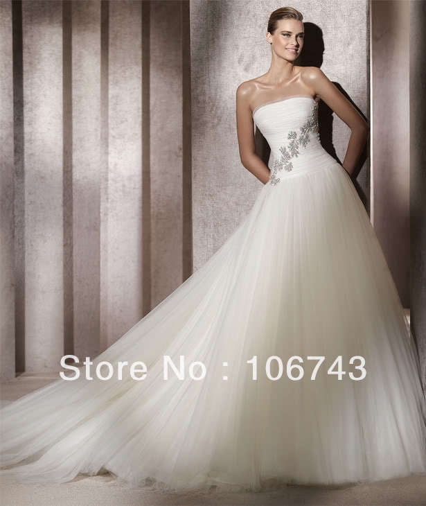 Free Shipping 2016 New Style Sexy Bride Wedding Custom Size Lace Princess Off The Shoulder Wedding Dress