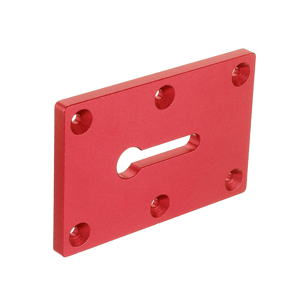 ALLSOME Aluminum Alloy Bench Clamp Plate Clamping Accessories Insert Plate for Bench Clamp Woodworking Tool HT2852