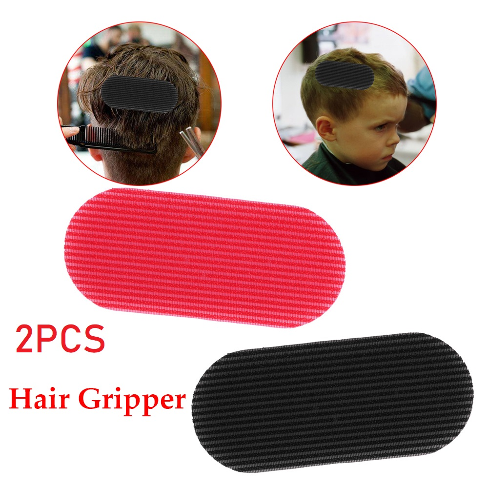 2pcs Men's Hair Gripper No Trace Hair Holder New Trimming Hair Sticker Hair Styling Cutting Trimming Barber Gripper Accessories