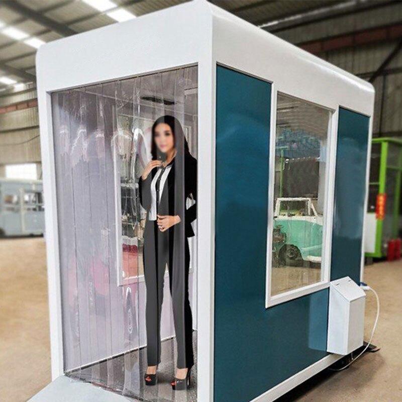 Desinfecção móvel porta esterilizador canal desinfetante corpo desinfetante túnel epidemia evitar a desinfecção cabine