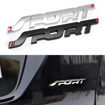 1x Car Metal 3D SPORT Logo Emblem Badge Sticker Trunk Fender Decal Accessories For Ford image