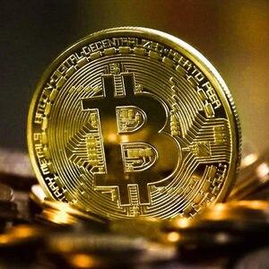 Креативный Биткоин монета сувенир позолоченный коллекционный отличный подарок Бит монета художественная коллекция физическая памятная м...