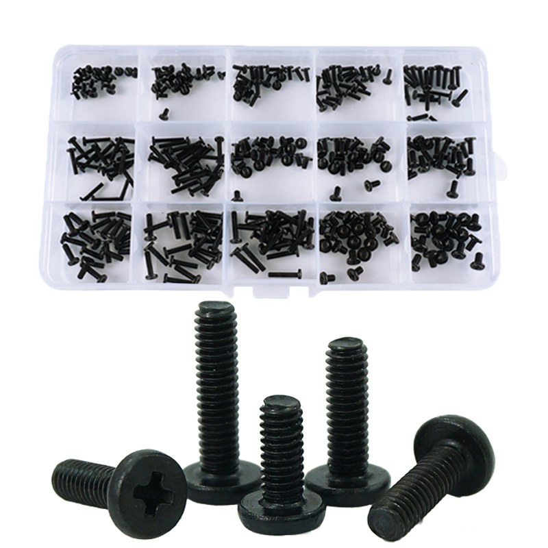 LUHUICHANG M2 M2.5 Laptop Notebook Screws Set Computer Electronic Digital Mini Mechanical Assortment Repair Kit Hardware-in Screws from Home Improvement