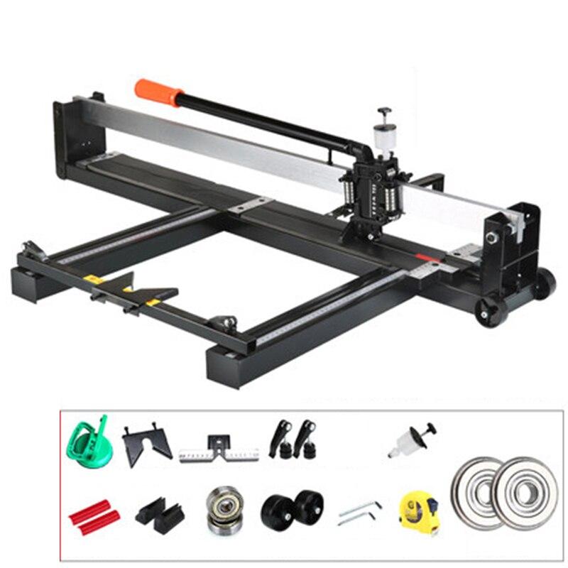 Manual Tile Cutter Tile Push Knife 800MM 1000MM 1200MM High Precision floor Tile Cutter Artifact Adjust the bracket Tools