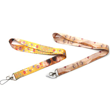 CA248 Wholesale 20pcs/lot Painting By Gustav Klimt Cartoon Straps Lanyard ID Badge Neck Straps Rope Chain Necklace Jewelry