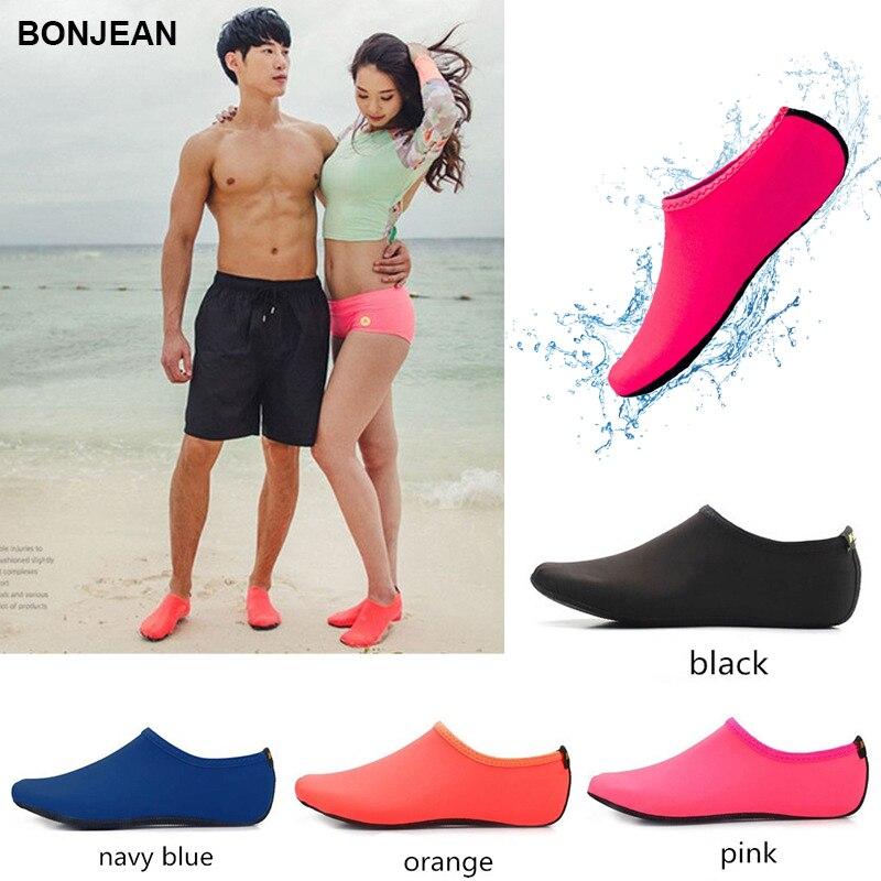BONJEAN Bottom Beach Sneakers Sock Unisex Latent Swimming Driving Fitness Leisure Barefoot Seaside Water Sports Diving Socks