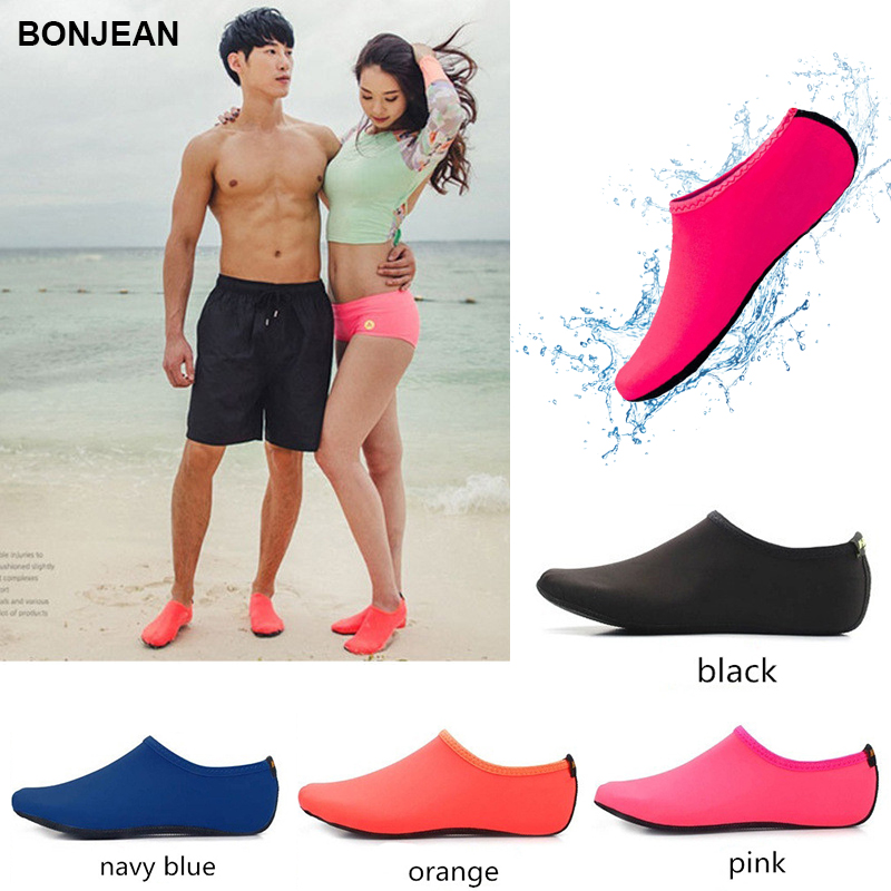 BONJEAN Bottom Beach Sneakers Unisex Latent Swimming Driving Fitness Leisure Barefoot Seaside Shoes Water Sports Diving Socks