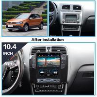 AOTSR Tesla Android 9 Car Player Autoradio For Volkswagen VW Polo Sedan 2012 2019 GPS Navigation DSP Central Multimidia Player