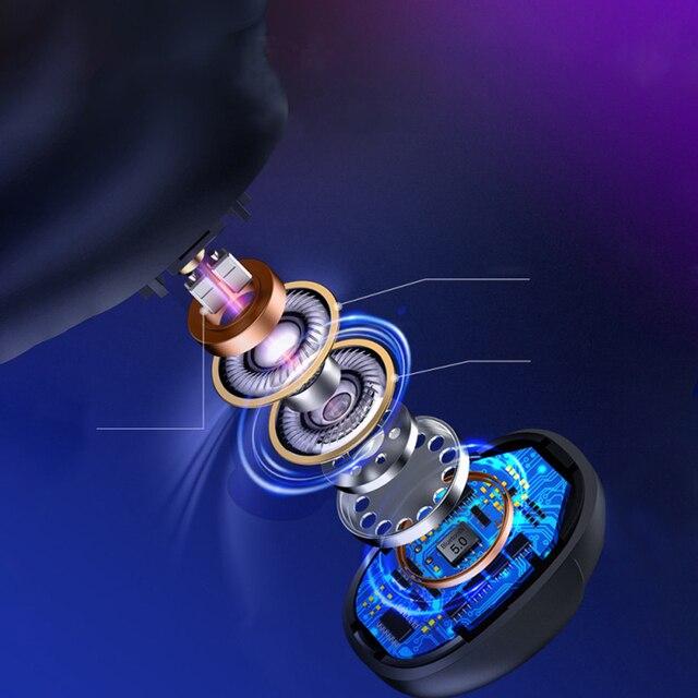 Wireless Earphone Bluetooth V5.0 In-Ear LED Display  2