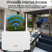 Modem Router CPE 4G LTE sbloccato universale RJ45 LAN WAN Antenna esterna WiFi Hotspot Wireless con Slot per schede Sim nuovo