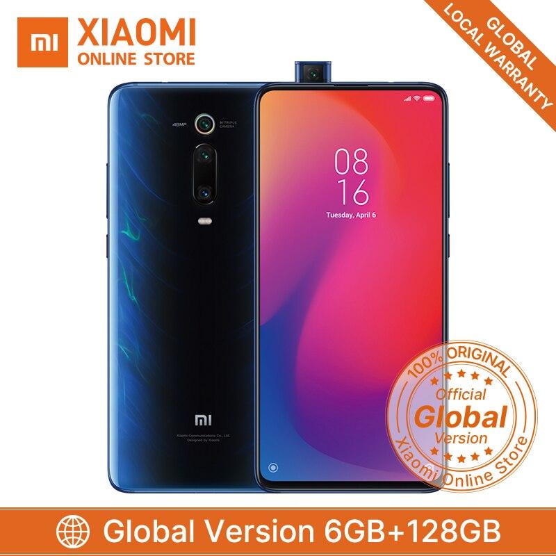 Versão Global Xiaomi mi 9t Pro Snapdragon 855 GB 128GB Smartphone 48MP 6 AI Câmera Triplo Pop -Na Frente Da Câmera 4000 mAh QC4.0