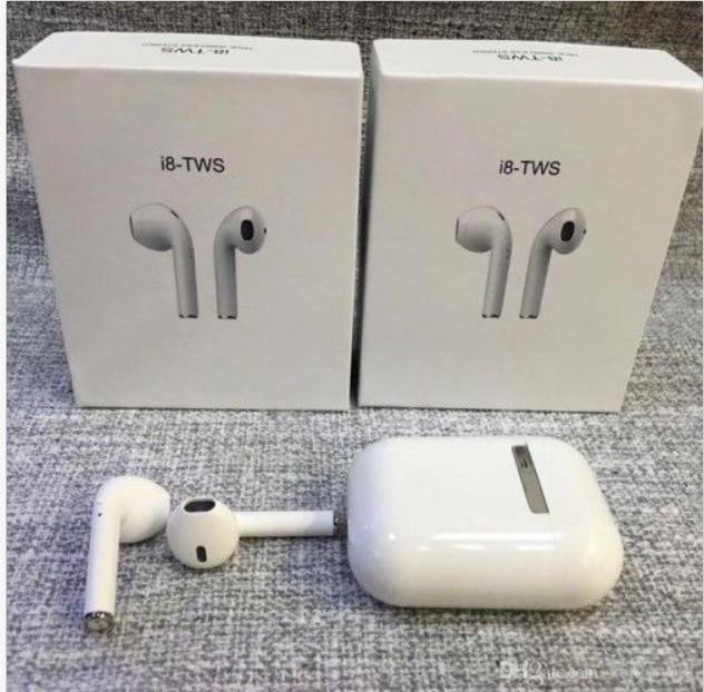 I8 TWS Bluetooth Earphones Stereo Wireless EarPods