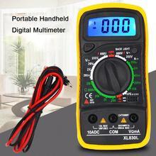Digital-Multimeter Xl830l Tragbare Hohe Präzision Digital Display Universal Strap Mit Hintergrundbeleuchtung Elektrische Multifunktions Meter