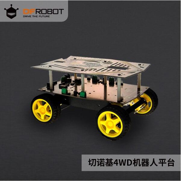 DFRobot Cherokee 4 Round Arduino Robotic Smart Car Arduino Trolley Platform