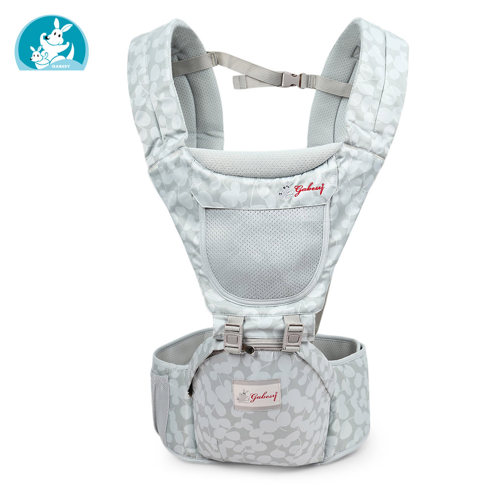 2019 Baby Carrier Infant Baby Hipseat Carrier Front Facing Ergonomic Kangaroo Baby Wrap Sling For Baby Travel 0-3 Years Old