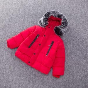 Image 3 - แจ็คเก็ตเด็กแฟชั่นฤดูใบไม้ร่วงฤดูหนาวเสื้อแจ็คเก็ตสำหรับเด็กWarmหนาHoodedเด็กOuterwear Coatเด็กวัยหัดเดินเสื้อผ้า