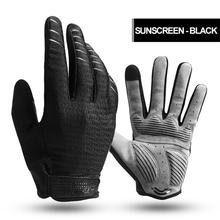 Gloves Full Finger Sport Shockproof Bike Touch Screen Gloves For Man Woman Bicycle Sponge Long Finger Glove coolchange winter cycling gloves touch screen gel bike gloves sport shockproof mtb road full finger bicycle glove for men woman