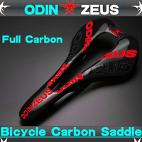 odinzeus 3K Full Carbon Fiber Super light Colorful Mountain Bike Comfortable Widened Saddle/Road/MTB Carbon Bicycle Saddle Seat