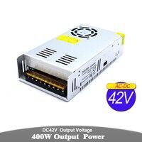 Single Output DC Power Supply 42V 9.5A 400W Driver Transformer AC To DC42V Power Adapter For Lighting Stepper Motor CNC Router