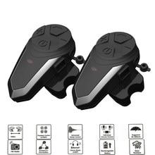 1200M BTS3 Bluetooth Helm Intercom BT-S3 IPX7 Wasserdichte BT 3,0 mit FM Headset Motorrad Bluetooth Helm Intercom 3 Fahrer